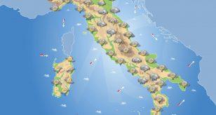 Previsioni meteo in Italia per domani 30 dicembre 2020