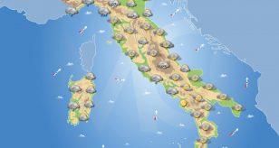 PREVISIONI METEO domani 3 Gennaio 2021 residuo MALTEMPO sull'ITALIA, ecco le previsioni