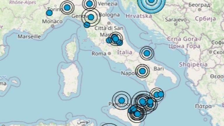 Terremoto in Italia oggi, venerdì 8 gennaio 2021, ecco le ultime scosse registrate – Dati Ingv