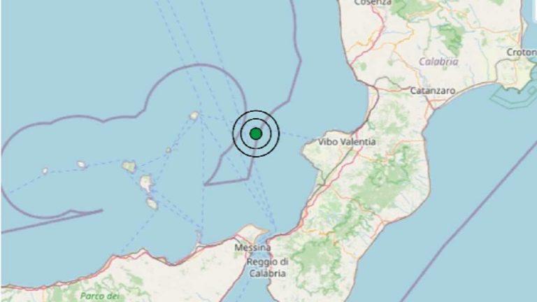 Terremoto in Calabria oggi, domenica 10 gennaio 2021: scossa M 3.2 sul Mar Tirreno Meridionale | Dati INGV