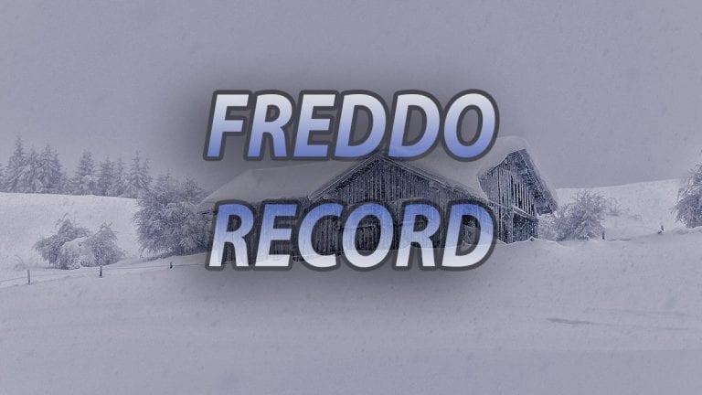METEO – Battuti svariati RECORD di FREDDO! TEMPERATURE in Spagna GELIDE, scalzati alcuni primati appartenenti agli ANNI '50