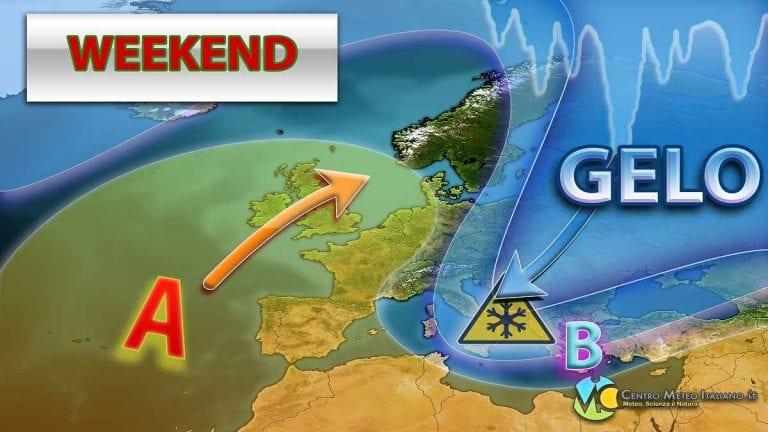 METEO: Correnti settentrionali fredde e secche attraversano l'ITALIA, tempo stabile ma fino a quando?