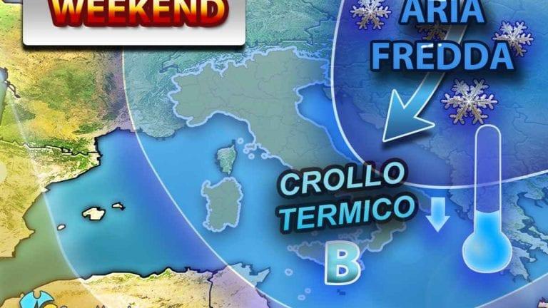 METEO – GELO RUSSO in arrivo in EUROPA, ITALIA per il momento solo lambita