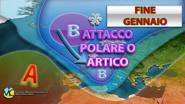 METEO WEEKEND – Perturbazione POLARE-MARITTIMA duratura sull'ITALIA, ecco quali saranno gli EFFETTI