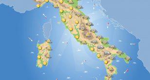 Previsioni meteo in Italia per domani 18 gennaio 2021