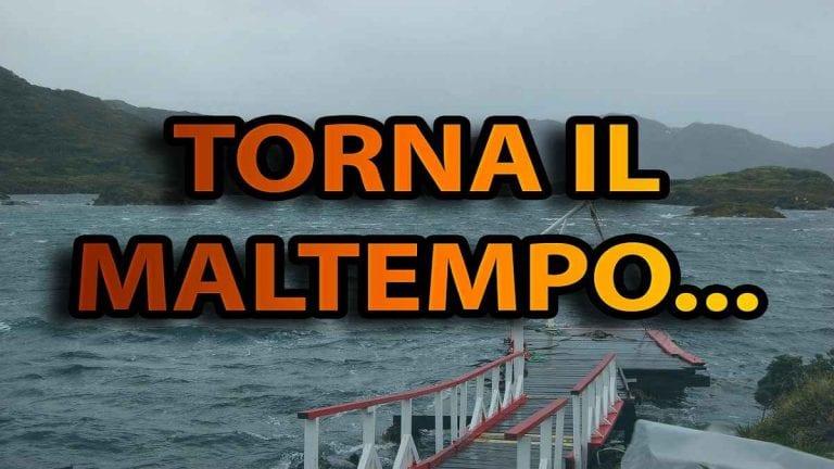 METEO GENOVA – Torna il MALTEMPO in città, piogge man mano più intense senza escludere locali NUBIFRAGI