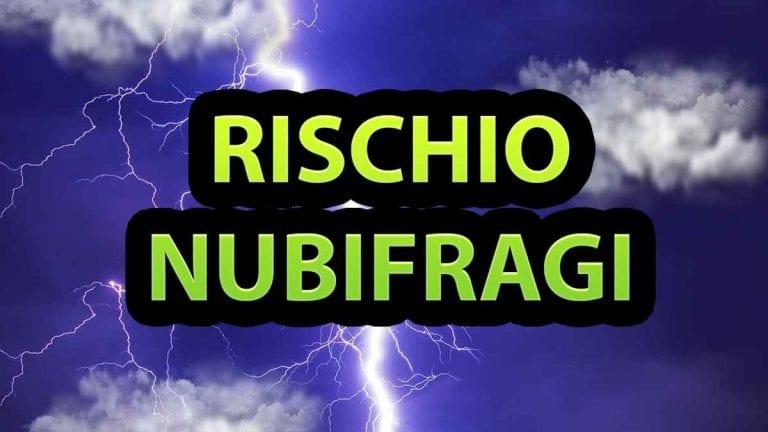 METEO – Forte MALTEMPO in arrivo nel WEEKEND con rischio NUBIFRAGI, ecco dove