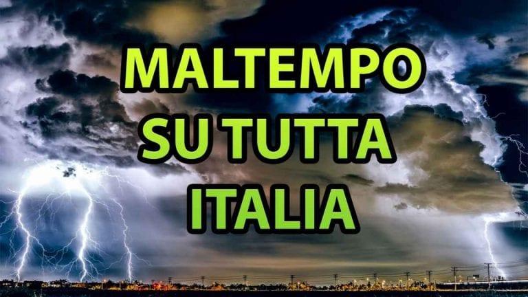 METEO NAPOLI – WEEKEND temporalesco e ventoso, si apre una nuova fase di MALTEMPO