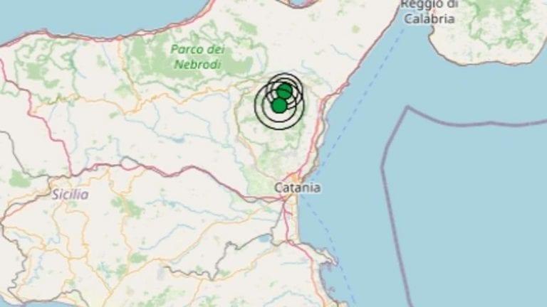Terremoto in Sicilia oggi, mercoledì 20 gennaio 2021, scossa M 2.6 in provincia di Catania   Dati Ingv