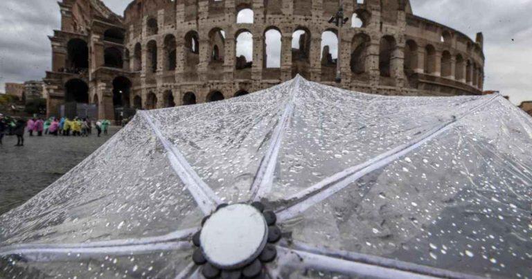 METEO ROMA – Forte MALTEMPO intermittente in arrivo sulla Capitale, ecco le previsioni