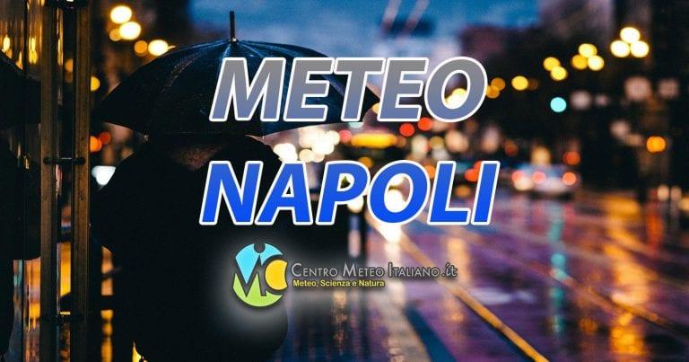 METEO NAPOLI – WEEKEND con TEMPO molto PERTURBATO al CENTRO-SUD; ecco le previsioni