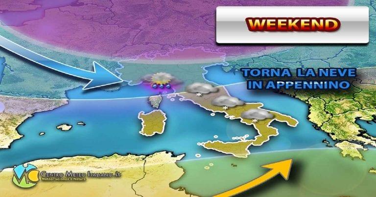 METEO INVERNO: Una stagione degna di altri tempi con NEVE ad oltranza in tante regioni d'ITALIA