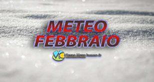 Grafica del meteo Febbraio a cura del Centro Meteo Italiano