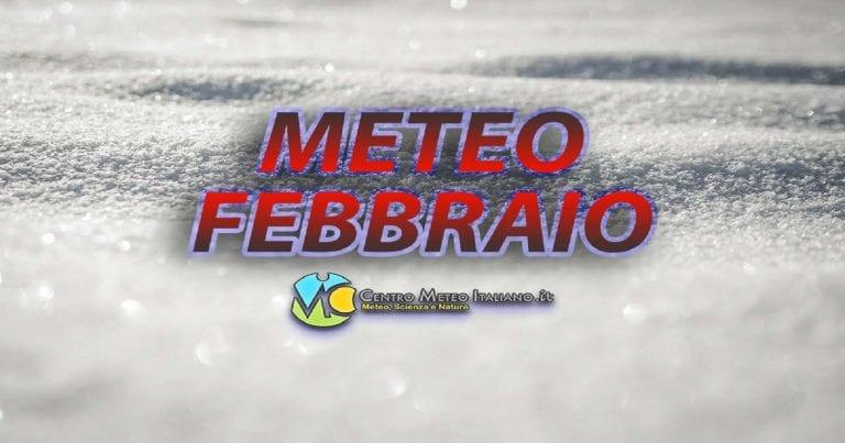 METEO FEBBRAIO – Alle porte dell'ultimo WEEKEND PERTURBATO, poi tanta INCERTEZZA per il prossimo mese INVERNALE