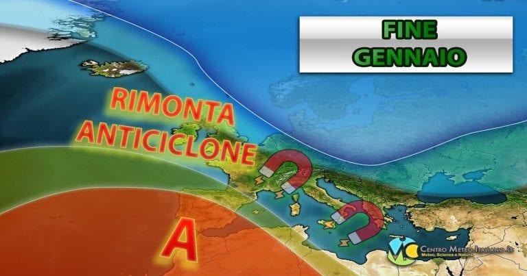 METEO ITALIA – Breve rimonta dell'ALTA PRESSIONE, nuovo PEGGIORAMENTO nel WEEKEND