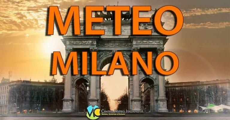 METEO MILANO – bel tempo in città ma con clima freddo e GELO diffuso, le previsioni per i prossimi giorni