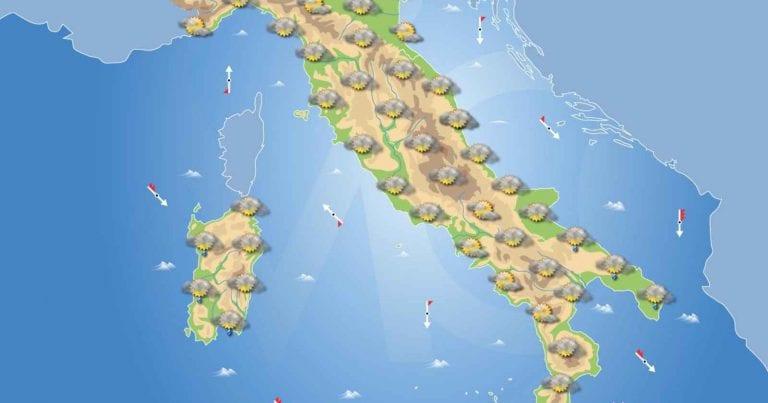 PREVISIONI METEO domani 27 Gennaio 2021: Tempo stabile in Italia salvo residue precipitazioni al sud