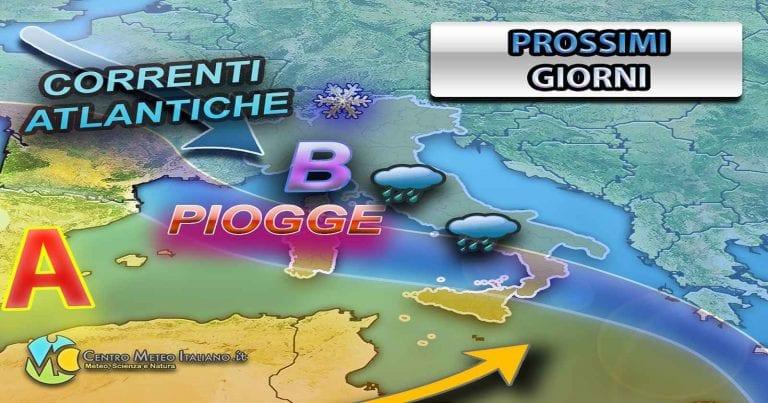 METEO PALERMO: Correnti occidentali più instabili sulla Sicilia e locale MALTEMPO, le previsioni