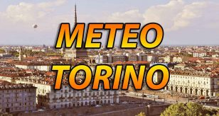 Bel tempo a Torino.