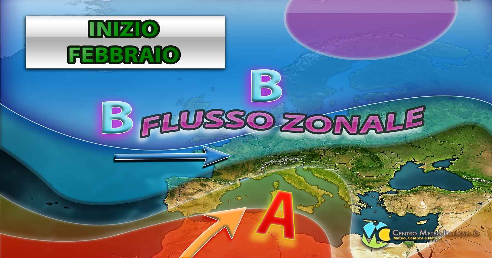 Prossima settimana tra anticiclone e perturbazioni atlantiche