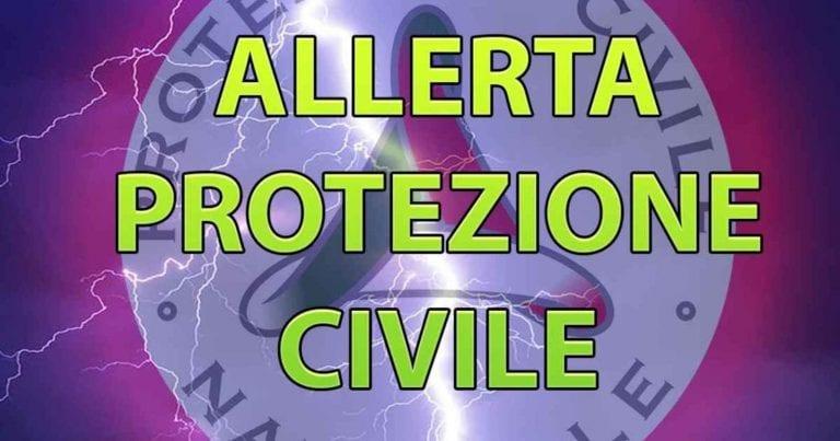 METEO – Persiste rischio FRANE in ITALIA, è ancora ALLERTA per la Protezione Civile, ecco dove