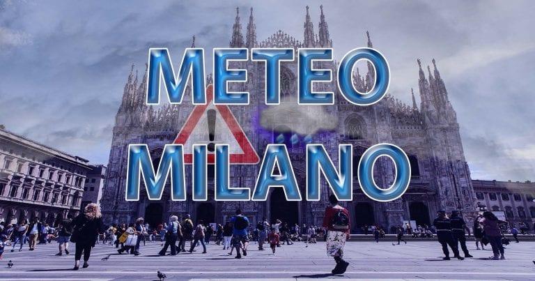 METEO MILANO – Pioggia e MALTEMPO a più riprese sulla LOMBARDIA, ecco le previsioni fino all'inizio di FEBBRAIO