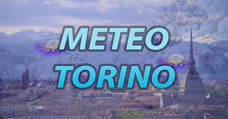 METEO TORINO – Peggioramento in arrivo in città con piogge diffuse, clima non particolarmente freddo