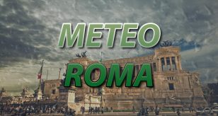 Grafica per le previsioni meteo di Roma a cura del Centro Meteo Italiano