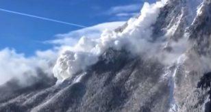 Valanga montagna