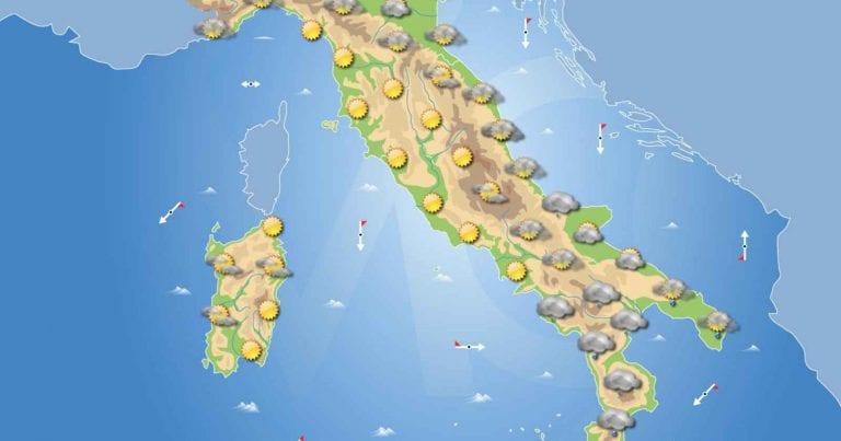 PREVISIONI METEO domani 2 Febbraio 2021: bel tempo sull'Italia salvo deboli piogge al meridione