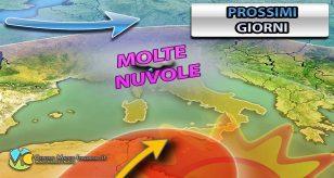 Previsioni meteo per la città di Torino