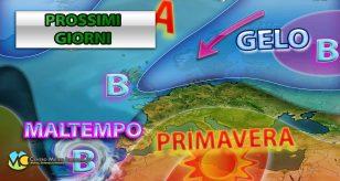 Temperature in rialzo poi maltempo entro il primo weekend di febbraio