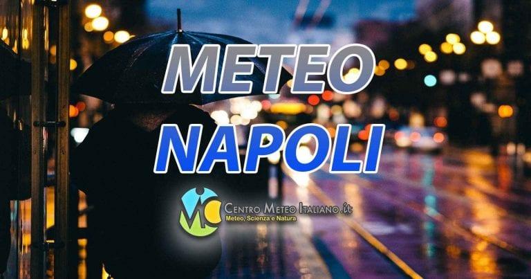 METEO NAPOLI – Nubi sparse in città, PIOGGE in arrivo da DOMANI; ecco le previsioni