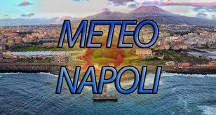 Grafica per le previsioni meteo di Napoli a cura del Centro Meteo Italiano