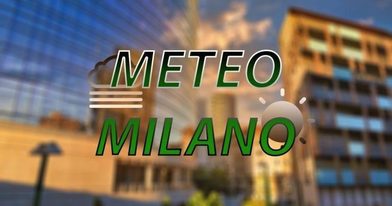 METEO MILANO – Instabilità al termine, con l'arrivo di SOLE e TEMPERATURE ESTIVE. Ecco le PREVISIONI