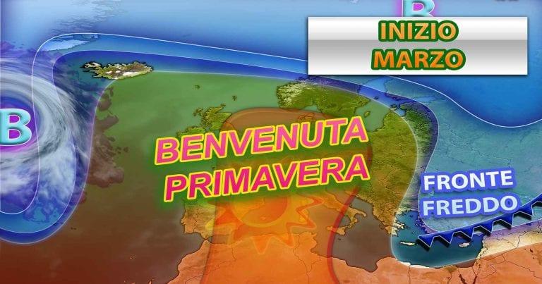 METEO PRIMAVERA – L'INVERNO si mette in disparte, partirà la bella STAGIONE con MARZO? Le ultime NOVITA'