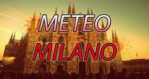 Previsioni meteo per la città di Milano.