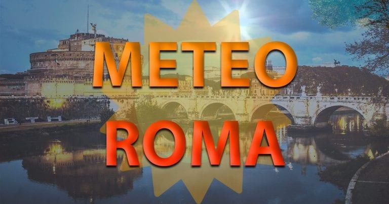 METEO ROMA – WEEKEND al via con CALDO e tanto SOLE, nei prossimi giorni qualche nube e calo delle temperature