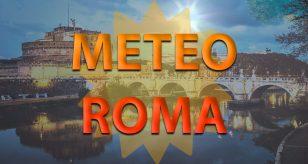 Previsioni meteo per la città di Roma