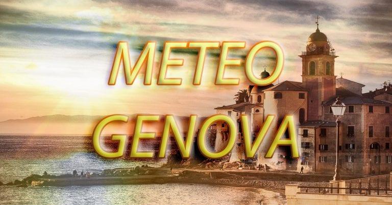 METEO GENOVA – TEMPO STABILE in città, salvo qualche addensamento; le previsioni