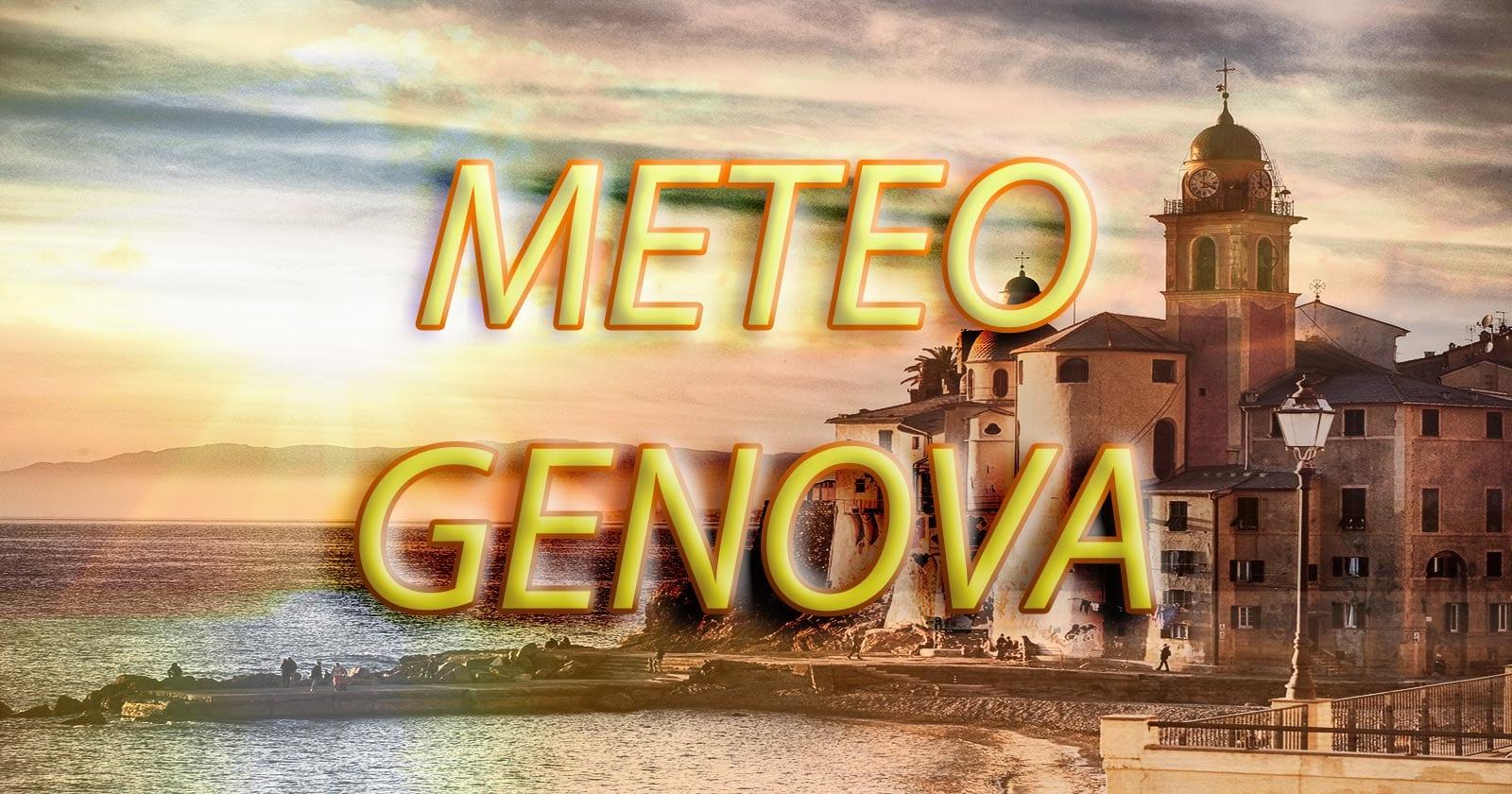 METEO GENOVA - Sole in città