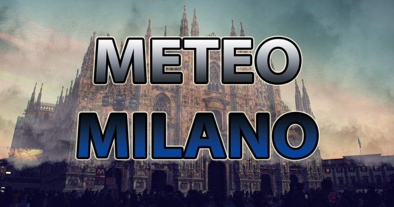 METEO MILANO – INSTABILITA' e PIOGGE isolate. Migliora nel WEEKEND con TEMPERATURE in aumento. Ecco le PREVISIONI