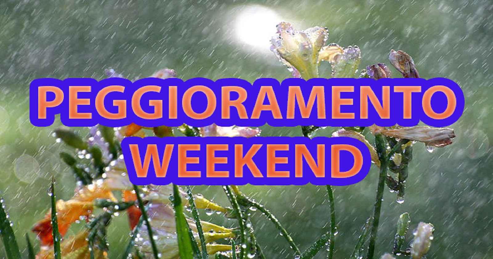 Meteo Italia, peggioramento in arrivo nel corso del prossimo weekend