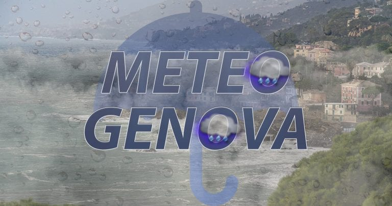METEO GENOVA – Fiocchi di NEVE fino in città, poi forte MALTEMPO entro il prossimo WEEKEND