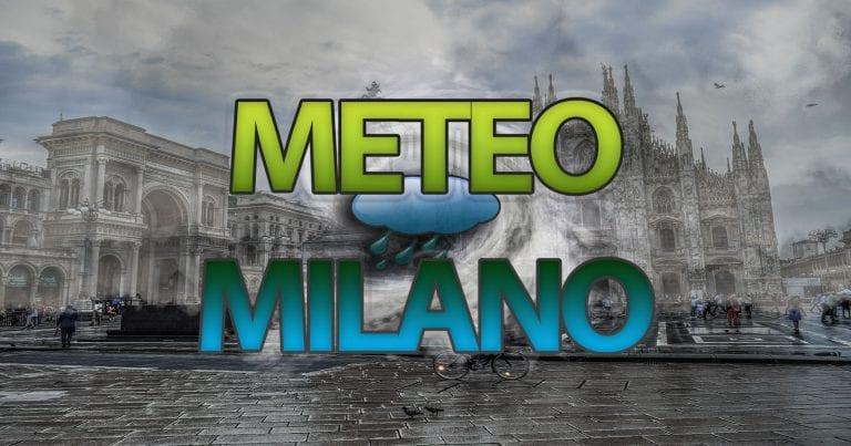 METEO MILANO – INSTABILITA' a tratti sulla LOMBARDIA, ma l'ANTICICLONE è dietro l'angolo. Ecco le PREVISIONI
