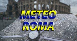Previsioni meteo per la città di Roma.