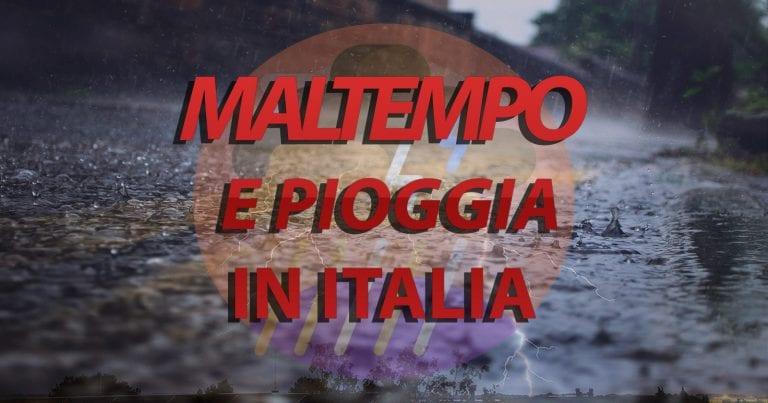 METEO – Forti PIOGGE e NUBIFRAGI nei prossimi giorni: la PRIMAVERA fa fatica in ITALIA. Ecco le REGIONI più colpite