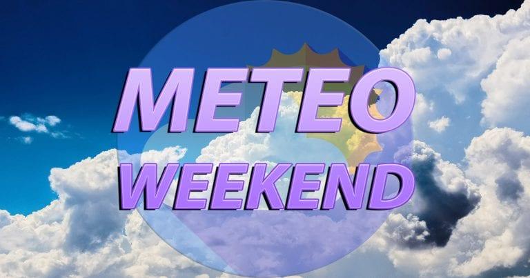 METEO WEEKEND – TEMPERATURE sotto la media in ITALIA e MALTEMPO in arrivo, i dettagli