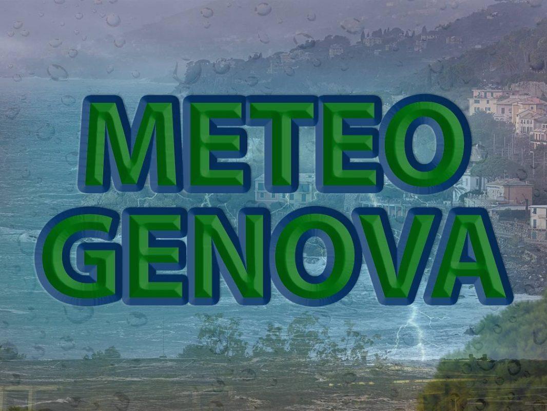 METEO GENOVA – Tempo INSTABILE con piogge isolate, ma da domani arriva il  MALTEMPO, ecco le PREVISIONI
