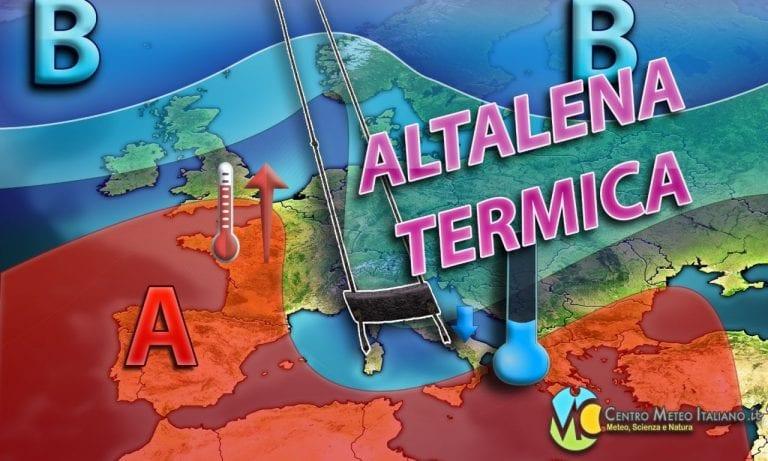 METEO – Alternanza tra ANTICICLONE e MALTEMPO in ITALIA per il prosieguo di APRILE, ecco la tendenza